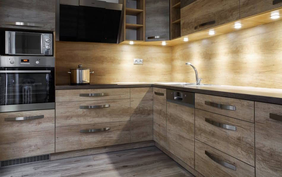 An under cabinet kitchen Light