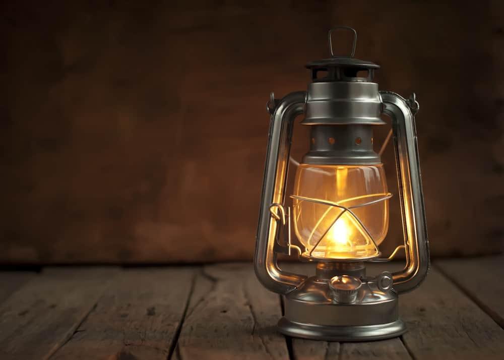 Kerosene lamp, a contemporary light