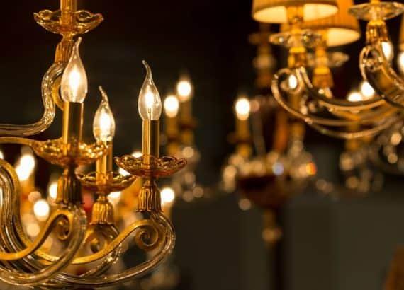 beautiful chadelier bulb