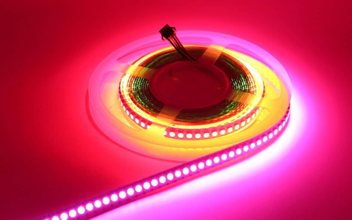 LED light strips to be hanged