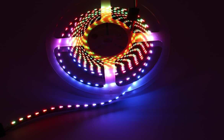 Digital LED light strips