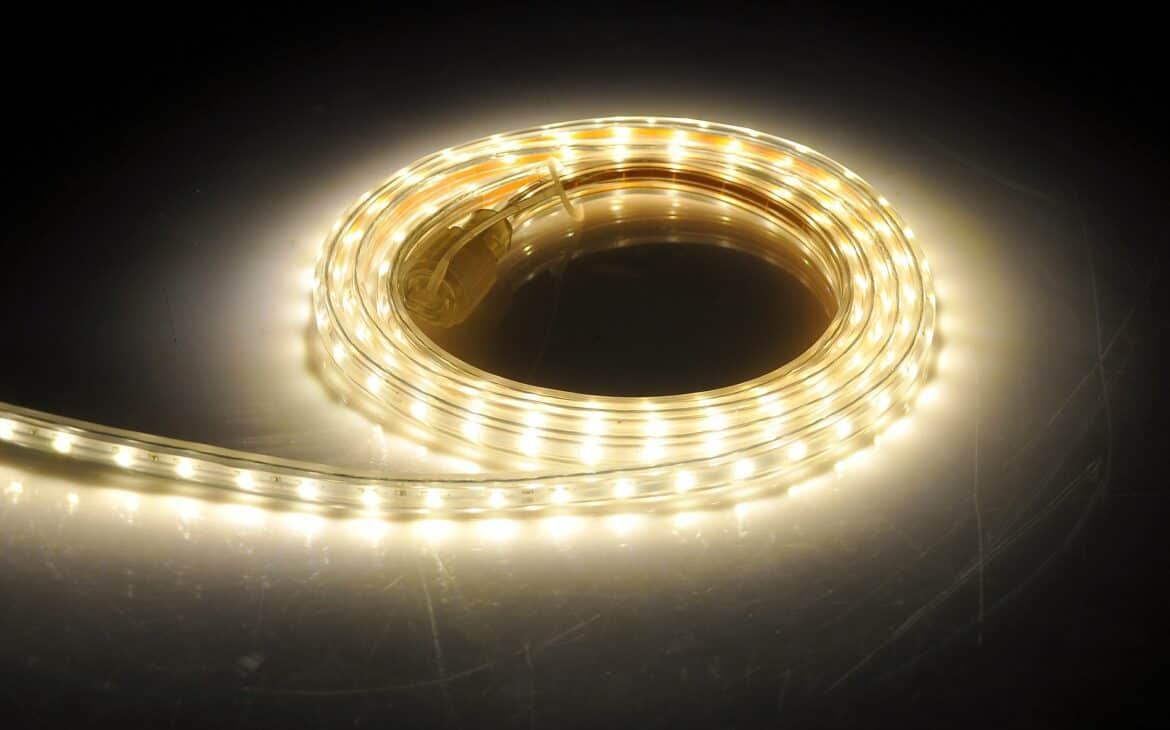Ready to hardwire LED strip lights