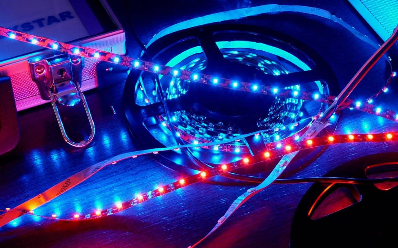 Wiring a 12v led strip lights in car
