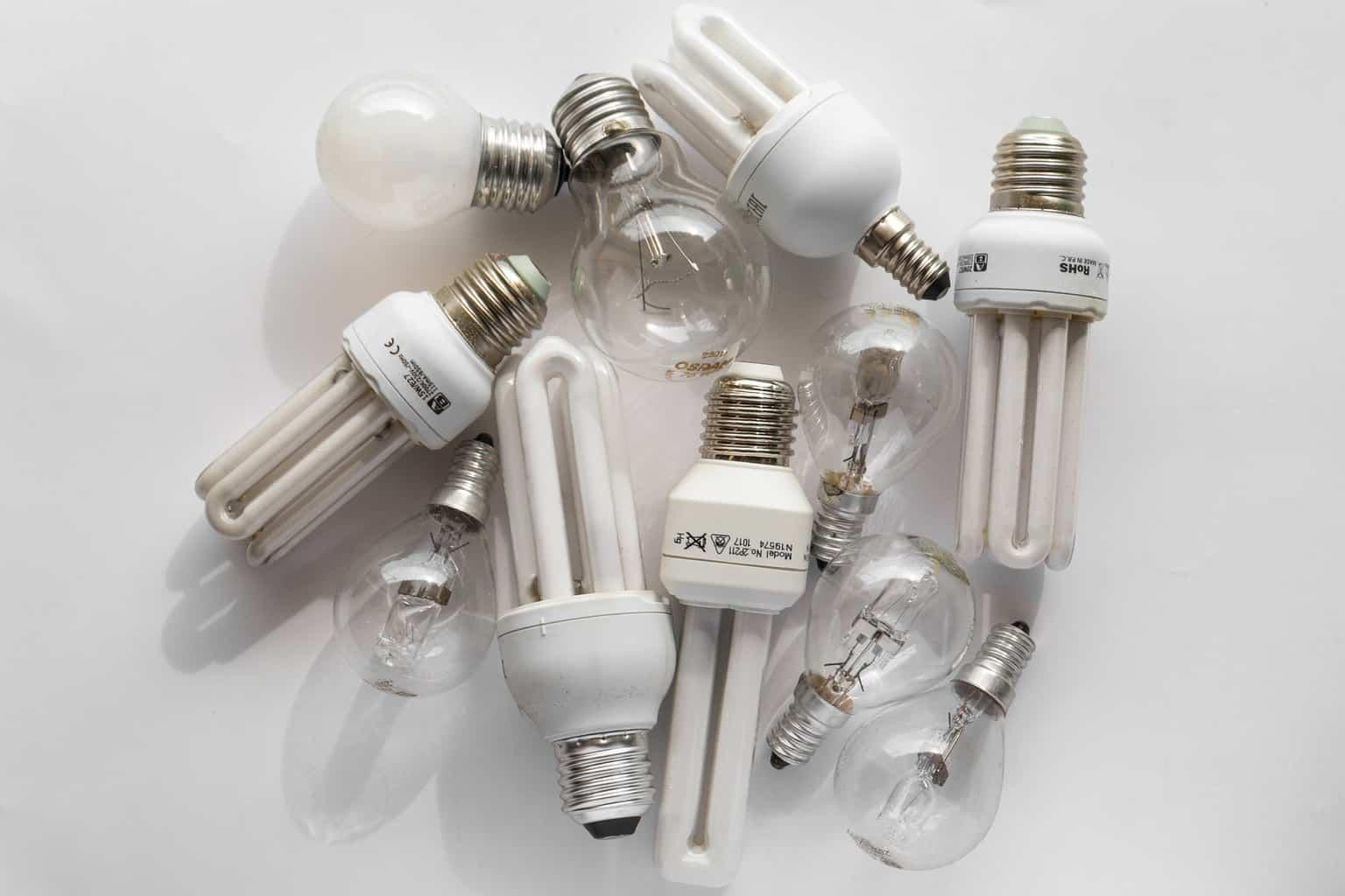 LED bulbs containing mercury