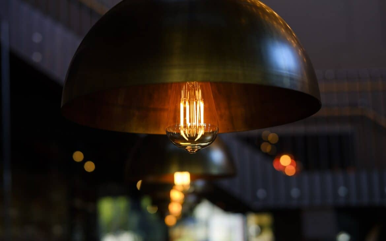 A LED lamp on