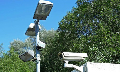 Dusk to dawn security lights